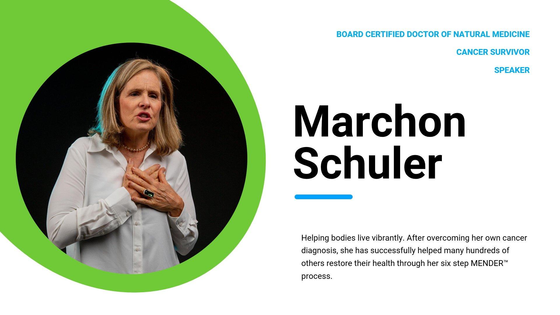 Dr. Marchon Schuler